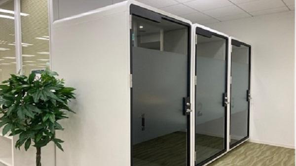 オフィス内の集中業務ボックス